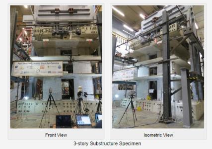 Testing of NEESR-CR: Post-Tensioned Coupled Shear Wall Systems at Lehigh University Friday, November 10, 2014